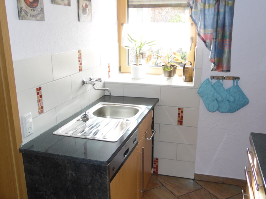 Kloucken-Haus - Küche/Esszimmer